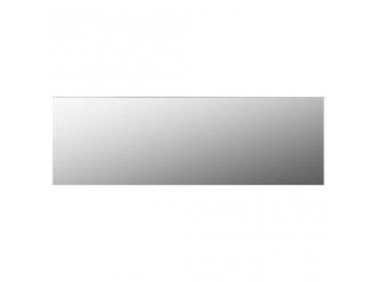 Zrcadlo bez rámu 120 x 30 cm sklo