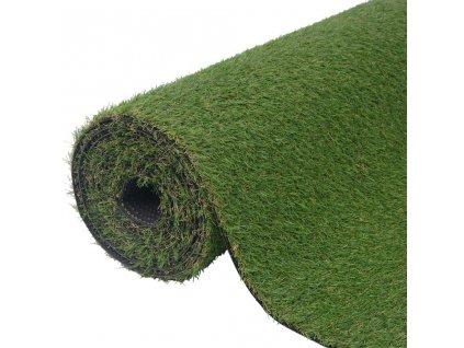 Umělá tráva 1,5 x 10 m / 20 mm zelená