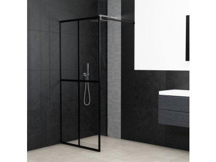 Zástěna do průchozí sprchy tvrzené sklo 100 x 195 cm