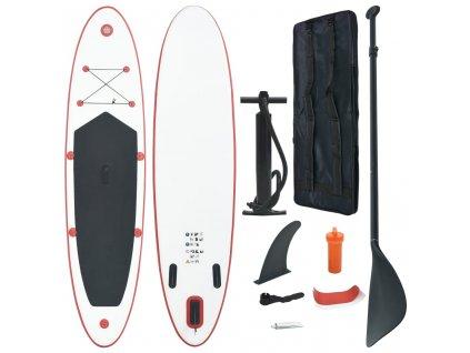 Nafukovací Stand Up Paddleboard (SUP) červenobílý