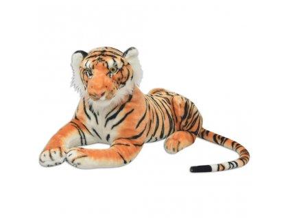 Tygr plyšová hračka hnědý XXL
