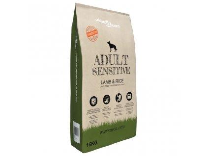 Prémiové suché krmivo pro psy Adult Sensitive Lamb & Rice 15 kg