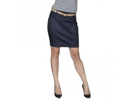 Minisukně s páskem, velikost 34, námořnická modrá