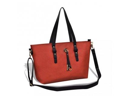 Oranžová dámská kabelka