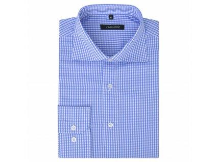 Pánská business košile bílá/světle modrá vel. S