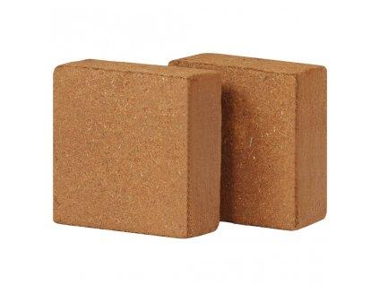 Lisované kokosové vlákno 2 ks 5 kg 30 x 30 x 10 cm