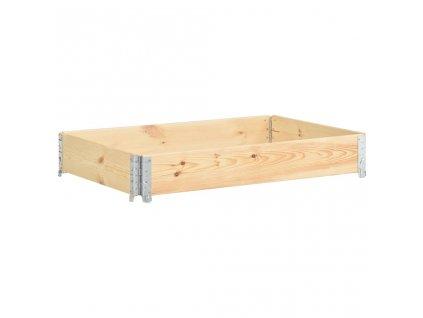 Vyvýšený záhon 50 x 150 cm masivní borové dřevo