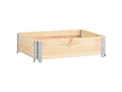 Paletový nástavec 60 x 80 cm masivní borové dřevo