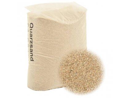 Filtrační písek 25 kg 0,4–0,8 mm