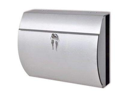 Poštovní schránka z nerezové oceli