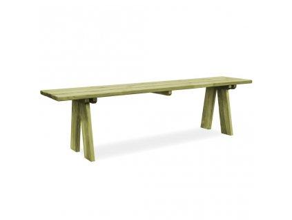 Zahradní lavice 170 cm impregnované borové dřevo