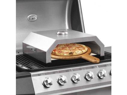 Pec na pizzu pro zahradní grily na plyn i uhlí keramická deska