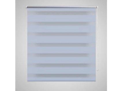 Roleta den a noc / Zebra / Twinroll 120x230 cm bílá
