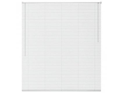 Okenní žaluzie hliník 100x130 cm bílá