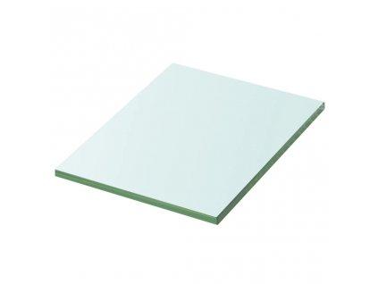 Policová deska sklo čiré 20x15 cm