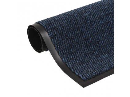 Protiprachová obdélníková rohožka všívaná 40x60cm modrá