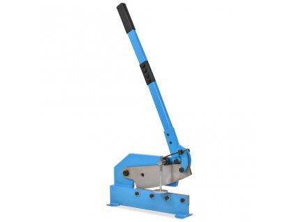 Pákové nůžky na plech 300 mm modré