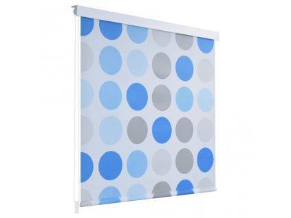 Sprchová roleta 80 x 240 cm s kruhovým vzorem
