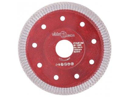 Diamantový řezací kotouč s otvory ocel 115 mm