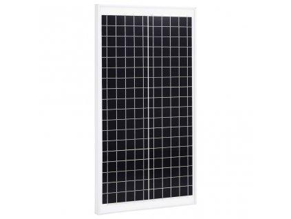 Solární panel 30 W polykrystalický hliník a bezpečnostní sklo