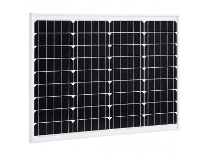 Solární panel 50 W hliník a bezpečnostní sklo
