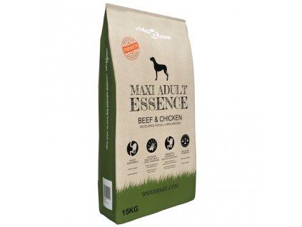 Granule pro psy Maxi Adult Essence Beef & Chicken 15 kg