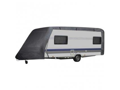 Plachta na karavan S šedá