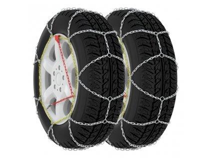 Sněhové řetězy na pneumatiky 2 ks 9 mm KN70