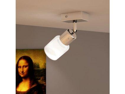 LED bodové svítidlo se skleněným stínidlem - nastavitelné