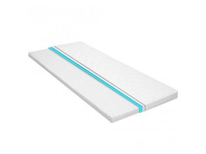Vrchní matrace 80 x 200 cm studená pěna nopky 6 cm