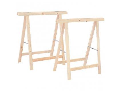 Skládací stavební kozy 2 ks borovice
