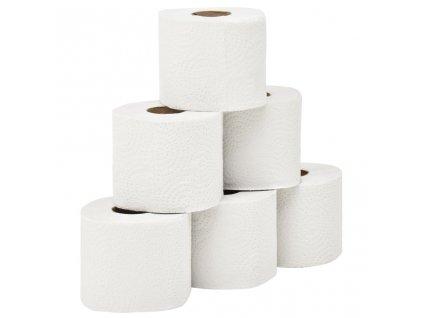 2vrstvý vzorovaný toaletní papír 128 rolí 250 útržků
