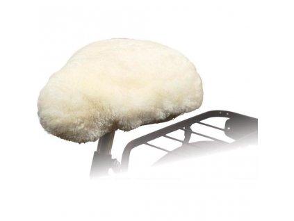 Willex Potah na cyklo sedlo ovčí kůže přírodní 30120