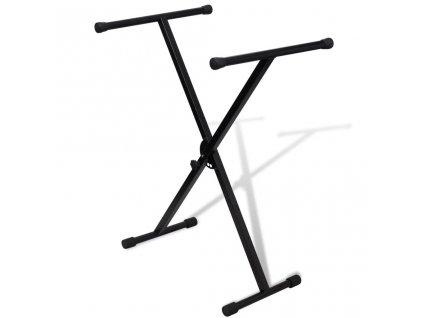 Stojan pod hudební klávesnicí , nastavitelná výška , tvar X