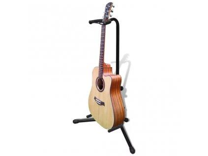 Nastavitelný stojan na jednu kytaru, skládací