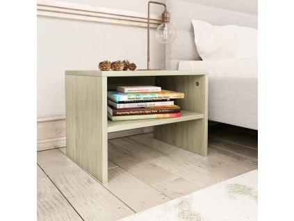 Noční stolek dub sonoma 40 x 30 x 30 cm dřevotříska