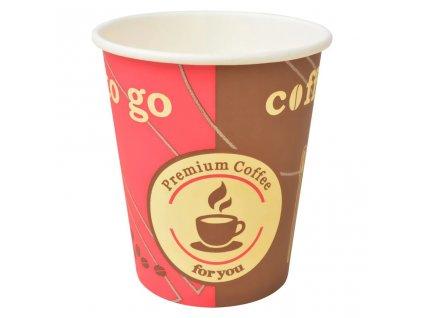 Jednorázové kelímky na kávu 1000 ks 240 ml