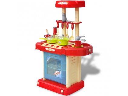 Dětská kuchyňka na hraní se světly a zvukovými efekty