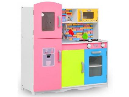 Dětská kuchyňka MDF 80 x 30 x 85 cm vícebarevná