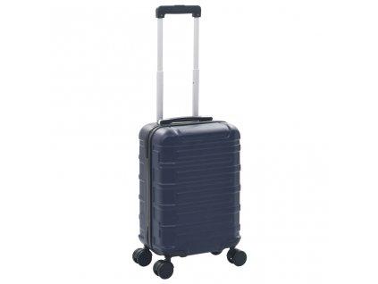 Skořepinový kufr na kolečkách námořnická modrá ABS