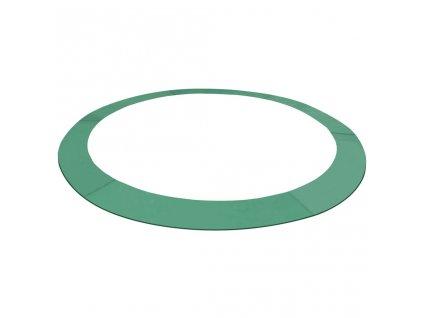 Kryt pružin PE zelený na kruhovou trampolínu o průměru 3,05 m