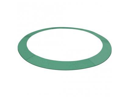 Kryt pružin PE zelený na kruhovou trampolínu o průměru 4,26 m