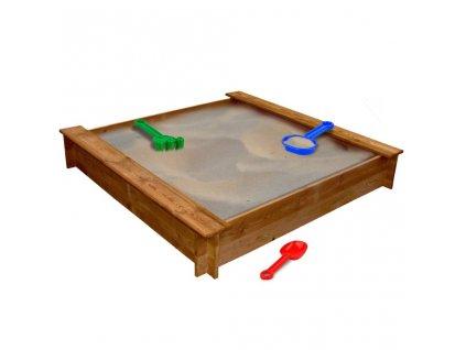 Pískoviště dřevo čtvercové