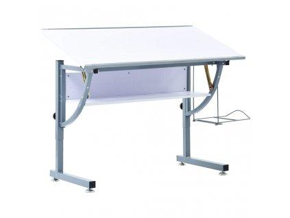 Studentský kreslící stůl bílý 110 x 60 x 87 cm MDF