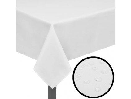 5 ubrusů bílých 100 x 100 cm
