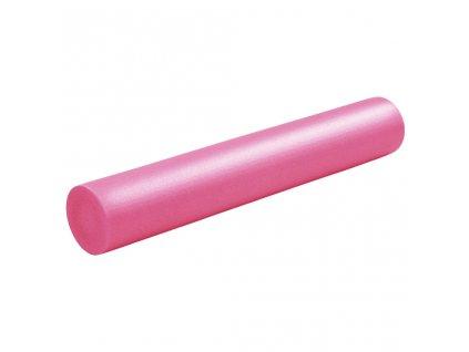 Jóga válec pěnový 15 x 90 cm EPE růžový