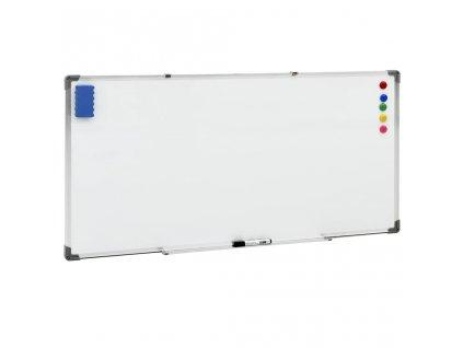 Magnetická tabule bílá 110 x 60 cm ocel