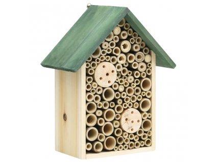 Hmyzí hotel 2 ks 23 x 14 x 29 cm masivní jedlové dřevo