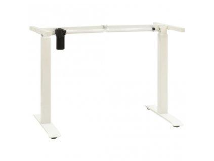 Rám stolu s elektrickým nastavením výšky bílý