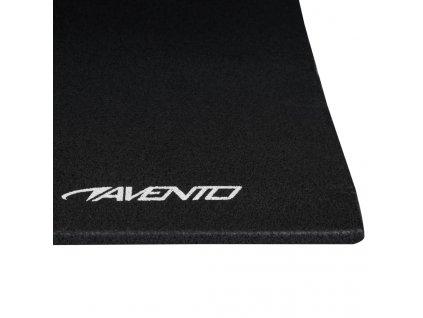Avento Multifunkční cvičební podložka XPE černá